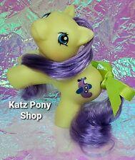 HQG1C Custom G1 MLP Style Playful Baby Pony 💜 FLIPPER 💜 w Accessories! YELLOW