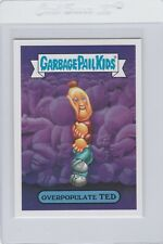 Garbage Pail Kids Overpopulate Ted 2a GPK 2017 Adam Geddon trading card Topps