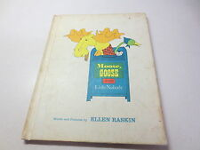 Moose, Goose and Little Nobody by Ellen Raskin vintage children's hardcover