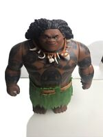 "Disney's Moana 10"" Talking Singing Demigod MAUI Doll Toy Figure **Sound works"