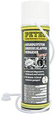 Petec Ansaugsystem  Drosselklappen Reiniger Vergaser  mit Sonde 500ml Nr. 72450