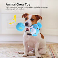 Pet Chew Toys Aggressive Chewer Tough Squeaky Dog Toys Durable Plush Toys