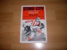 stoke city v southampton  1967/68 season  with free postage
