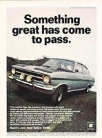1967 Opel Kadett Rallye Sport Original Advertisement Print Art Car Ad PE58