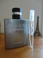 Chanel Allure Homme Sport Eau Extreme - 10ml Glass Atomiser Frag SAMPLE / TESTER