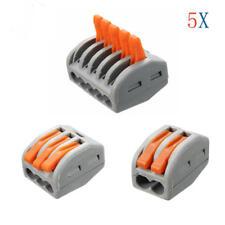 WAGO Morsetti connessione morsetto dosi morsetto serie 222-415 fino a 4mm² 10 pezzi