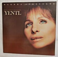 Barbra Streisand YENTL Soundtrack LP Album - Vinyl 1983 Columbia Records JS 3915