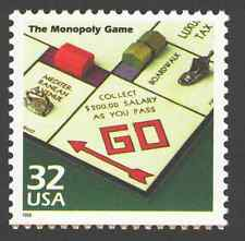 US. 3185 o. 32c. The Monopoly Game. Celebrate The Century