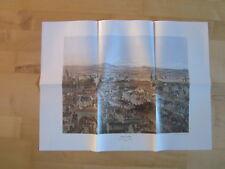 Wien Archiv Edition 1083, 1084 Blick vom Stephansturm 1856 4 Ansichten
