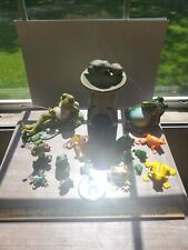 Frog Figurine Collection 20 Pc Decoration Miniature Fairy Garden accent Reptile