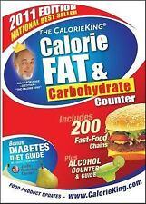 The CalorieKing Calorie, Fat & Carbohydrate Counter 2011, Allan Borushek, Good C