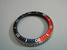 NEW REPLACEMENT BEZEL WITH PEPSI INSERT FITS SEIKO DIVER'S 6309 /6306 /7002