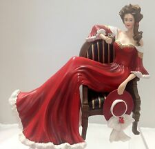 The Drink of Daydreams Lady Figurine - Relaxing Moments with Coca Cola