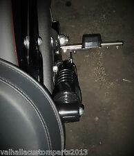 seitlicher Kennzeichenhalter Bohrung 15 mm UNI Honda Cafe Racer Bobber ohne LED