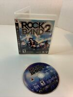 ROCK BAND 2 Game for Sony PlayStation 3 * PS3 * Case and Disc ONLY * Free S/H
