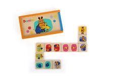 Die Maus Domino Legespiel aus Holz für Kinder ab 3 Jahre fördert Konzentration