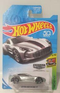 2018 Hot Wheels Aston Martin One 77 Zamac USA Exclusive