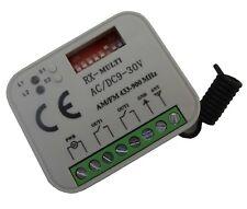 Tkstar 433Mhz-868Mhz Rc Receiver Button Fits to Liftmaster, Novoferm, Hörmann