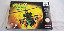 * Nintendo 64 * Nuclear Strike 64 * N64 * NEW Old Stock! * PAL *