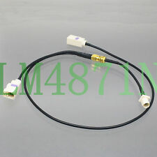 """cable Fakra B SMB 9001 white phantom radio to SMA Y 1M2F 21""""+6"""" Combined pigtail"""