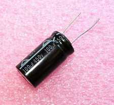 100uF, 450V Radial Electrolytic - Lot of 3