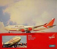Herpa Wings 1:500  Boeing 747-400  Air India VT-EVA  531849   Modellairport500