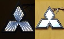 3D LED Car Tail Logo White Light for Mitsubishi Outland Lancer Auto Badge Light