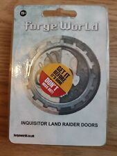 Forge World Inquisitor Land Raider Door NIB no longer available OOPS