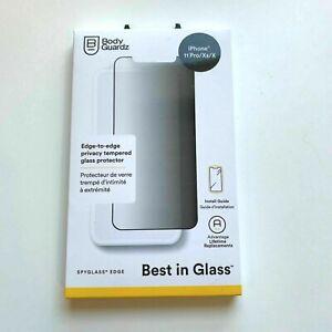 "New BodyGuardz Spyglass Edge Glass Screen Protector iPhone 11 Pro / XS /X (5.8"")"
