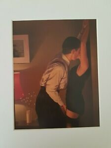 Jack Vettriano Game On White Mounted Art Print Special Offer NEW