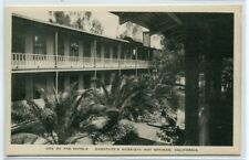 Guenther's Hotel View Murrieta Hot Springs California postcard