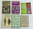 Collection of 6 Military Collectors Books on Badges Medals Uniforms Aeronautica