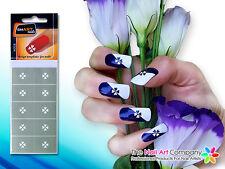 SmART-Nails - Clubs Nail Art Stencils N008 Professional Nail Product