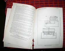 COIN OPERATED BOOK OPENING APPARATUS PATENT. EATON, MASSACHUSETTS, USA 1896