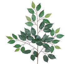 "480 pcs 24"" Ficus Capensia Red Back Leaf Spray Artificial Tree Silk Plant"