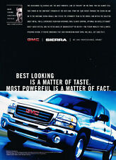 2003 GMC Sierra Truck - powerful - Classic Vintage Advertisement Ad H21