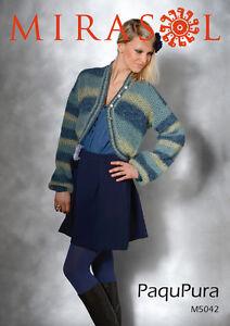 Mirasol Paqu Pura pattern M5042 Lace bolero