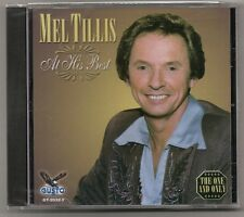 "MEL TILLIS, CD ""AT HIS BEST"" NEW SEALED"