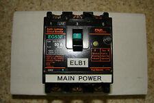 Fuji Electric 50amp breaker EG53F 100-240V