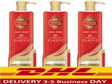 3x400ml Cussons Imperial Leather Classic Body Wash, Liquid Soap ,