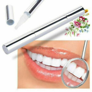 New  Flawless Teeth Whitening Gel Pen Active Oxygen Bubbles Remove Stains