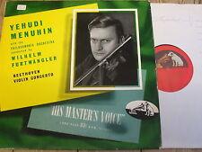 ALP 1100 Beethoven Violin Concerto / Menuhin / Furtwangler R/G
