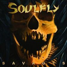 Savages [Digipak] [Digipak] by Soulfly (CD, Oct-2013, Nuclear Blast)