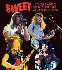 THE SWEET LIVE SANTA MONICA 1976 FEATURE DEEP PURPLE'S RICHIE BLACKMORE GUEST AP