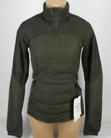 NEW LULULEMON Down For It All Pullover Jacket 4 6 8 Dark Olive Green Goose
