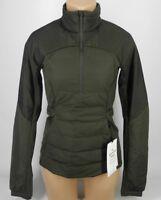 NEW LULULEMON Down For It All Pullover Jacket 4 6 8 12 Dark Olive Green Goose