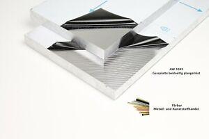 Aluminium Gussplatten beidseitig plangefräst 10mm AW5083 Alu Platte Zuschnitt