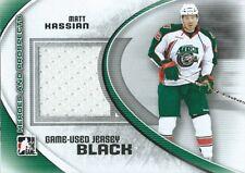 (HCW) 2011-12 ITG Heroes and Prospects Black MATT KASSIAN /100* Jersey 02279