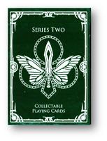 Dota 2 Jugando a las Cartas Verde Series 2 Póquer Juego de Cartas Cardistry