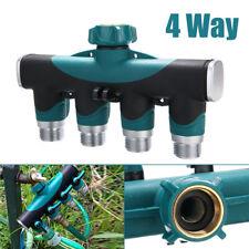 Wasserverteiler Messing Gartenschlauch Wasserhahn Verteiler Ventil Grün